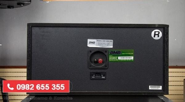 Mặt sau LOA BMB CSV 450SE