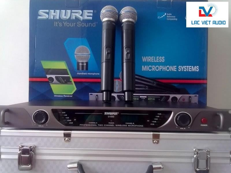 Micro không dây Shure chính hãng, giá cực chất