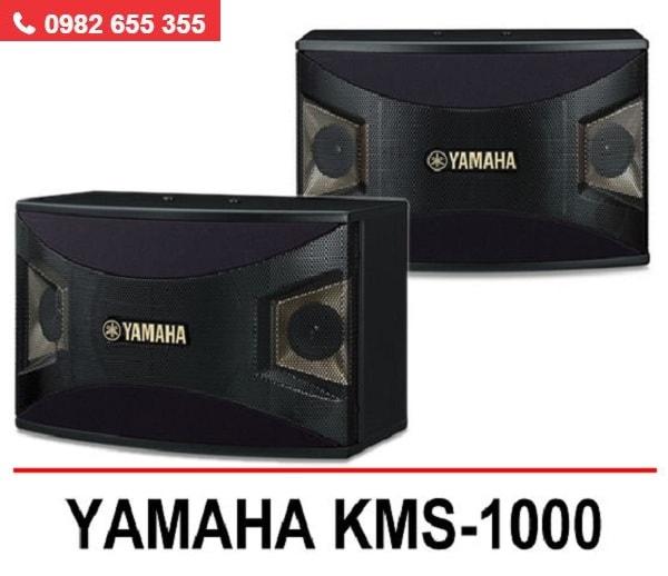 LOA KARAOKE YAMAHA KMS 1000 thiết kế tinh gọn