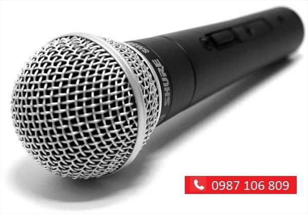 MICRO SHURE SM58 giá hấp dẫn tại Lạc Việt audio