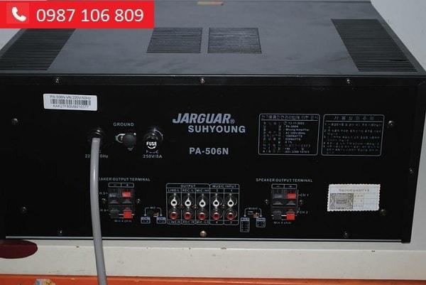 Mặt sau Amply Jarguar 506N Hàn Quốc