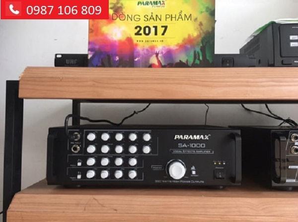 AMPLY PARAMAX SA-1000 giá tốt tại Lạc Việt audio
