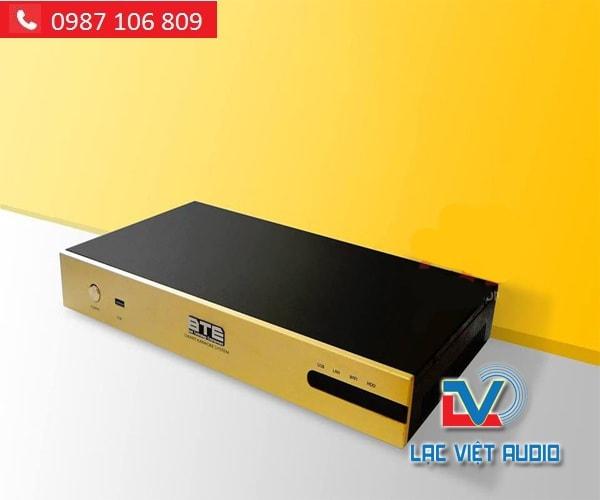 ĐẦU KARAOKE BTE S650 4TB màu sắc ấn tượng
