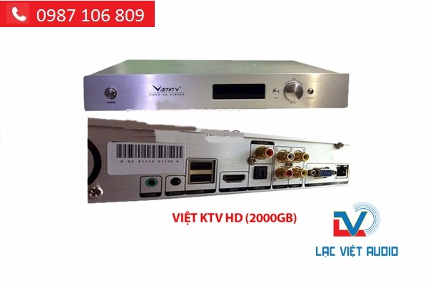 ĐẦU KARAOKE VIỆT KTV 2000GB HDMI (MỚI) chính hãng