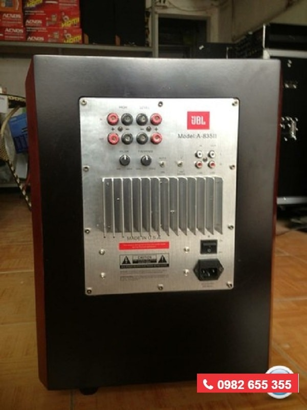 LOA SUB JBL 835 II bảo hành cực lâu tại Lạc Việt audio