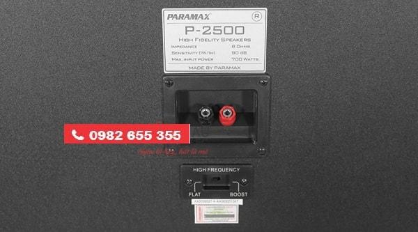 LOA PARAMAX P 2500 chất lượng cao tại Lạc Việt audio