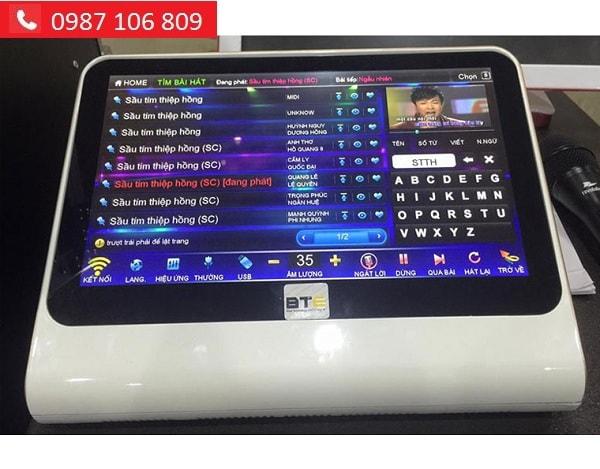 ĐẦU KARAOKE BTE V6 2TB tại Lạc Việt audio