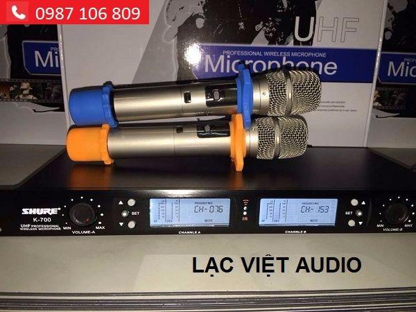 Micro Shure K700 giá tốt tại Lạc Việt audio