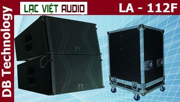 Thiết kế loa array DB LA-112F