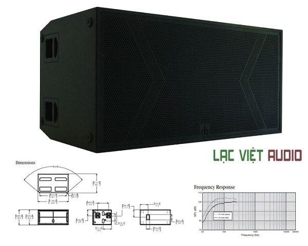 Loa sub DB LA-218S tại Lạc Việt audio