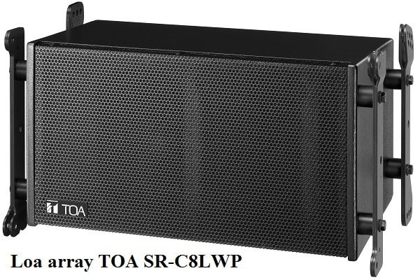 Loa array TOA SR-C8LWP